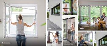 Neher hat Fliegengitter-Produkte für alle Fenster, Türen und Lichtschächte im Programm. Ein Berater hilft bei der Auswahl.